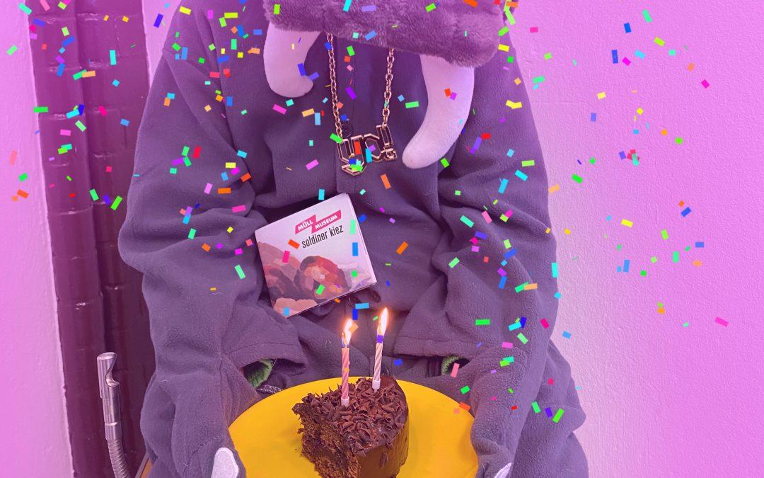 Happy Birthday, Müll Museum Soldiner Kiez!